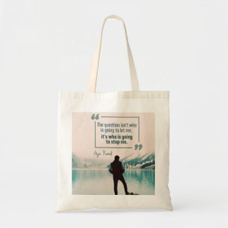 Who Is Going To Stop Me Tote Bag