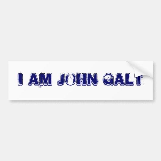WHO IS JOHN GALT BUMPER STICKER