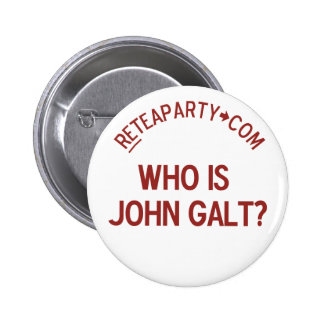 Who is John Galt Tea Party Button