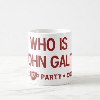 Who is John Galt Tea Party Mug
