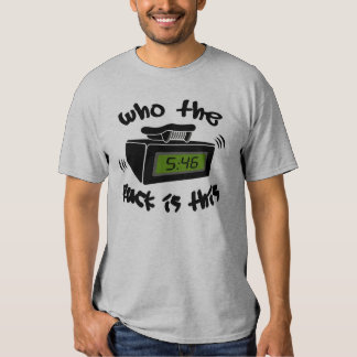 Who is Paging Me Tee Shirt