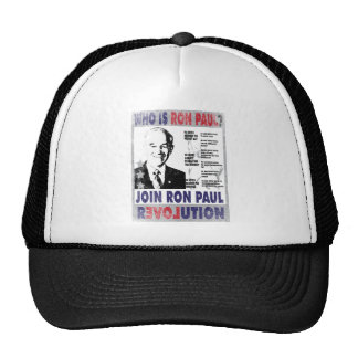 Who is Ron Paul.png Trucker Hat