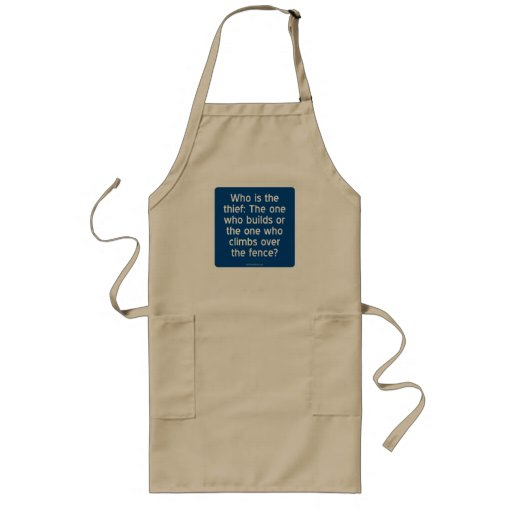 Who is the thief? aprons