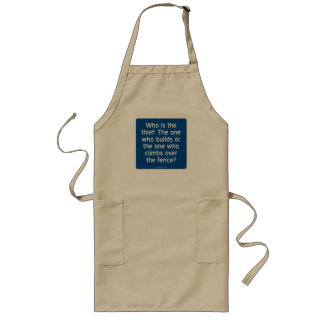 Who is the thief? long apron