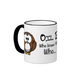 Who knew oil drilling could hurt the environment ringer mug