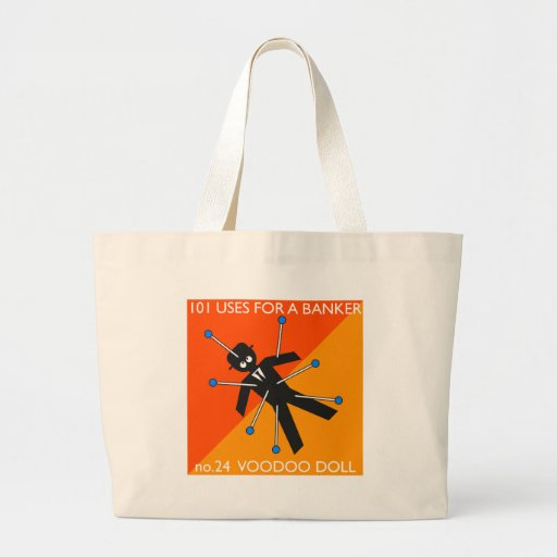 who knew what you do with voodoo?? canvas bags