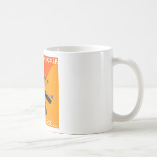 who knew what you do with voodoo?? basic white mug