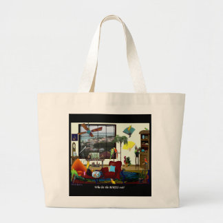 Who let the BIRDS out? WOW Beach Bag