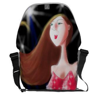 'Who Me?' Artwork by John Ridley Commuter Bag
