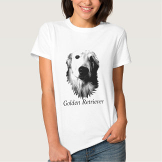 Who Me? Funny Dog Expressions. Golden Retriever T Shirt