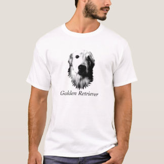 Who Me? Funny Dog Expressions. Golden Retriever T-Shirt