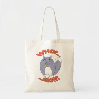 Who?... Meow? Bag