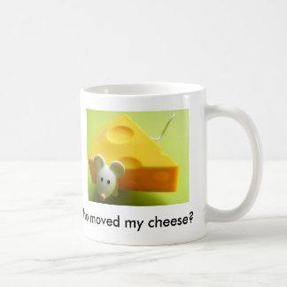 Who moved my cheese? basic white mug