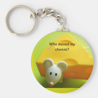 Who moved my cheese? key ring