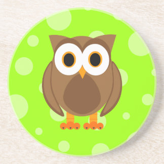 Who? Mr. Brown Owl Coaster
