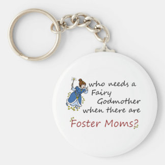 Who needs a Fairy Godmother? Basic Round Button Key Ring