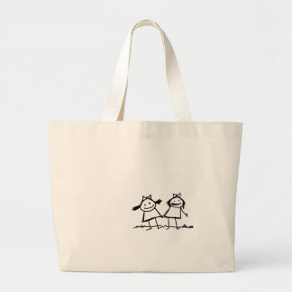 Who needs Bags? Large Tote Bag