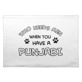 Who needs men when I have my Punjabi Cloth Place Mat