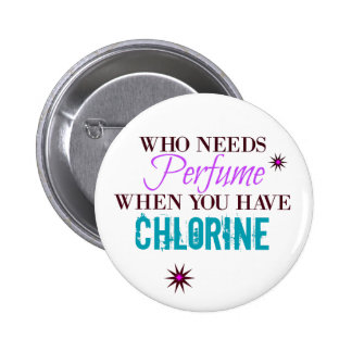 Who Needs Perfume Button! 6 Cm Round Badge