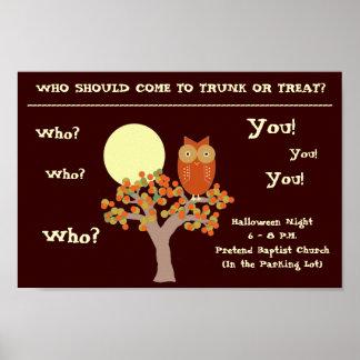 Who Owl Print