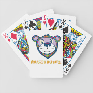 Who Pissed Bicycle Playing Cards