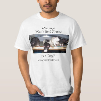 """Who Says"" Rat T-Shirt - Style B"