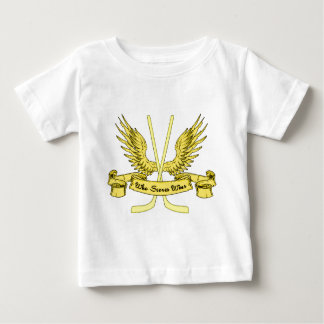 Who Scores Wins Ice Hockey Toddler T-Shirt