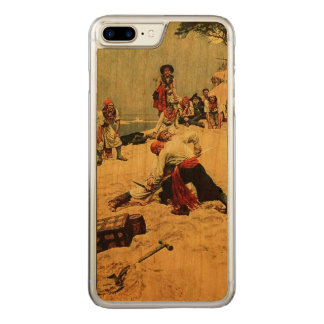 Who Shall Be Captain? pirate art Carved iPhone 8 Plus/7 Plus Case