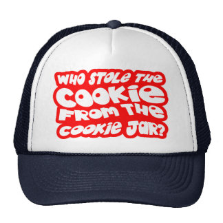 Who Stole The Cookie From The Cookie Jar? Mesh Hats