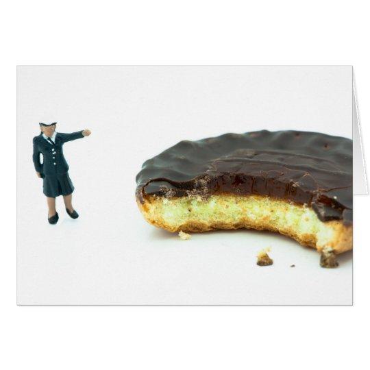 Who stole the jaffa cake? card