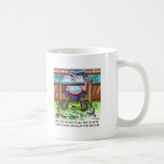 Who To Call 1st: 911 or a Plumber Basic White Mug