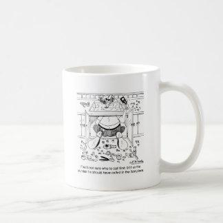 Who To Call 1st: 911 or a Plumber Mug