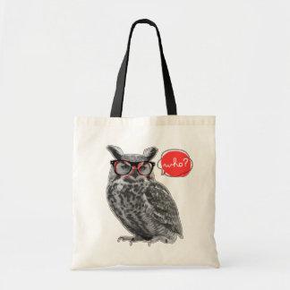 who? tote bag
