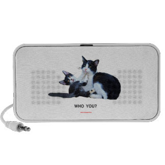 Who You Cats Travelling Speakers