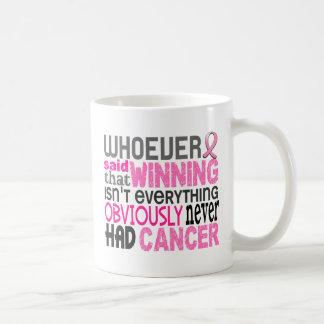 Whoever Said Breast Cancer Coffee Mug