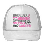 Whoever Said Breast Cancer Mesh Hats
