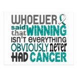 Whoever Said Cervical Cancer