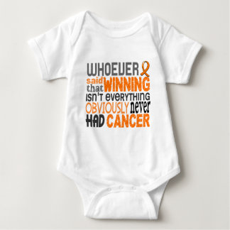 Whoever Said Leukemia Baby Bodysuit