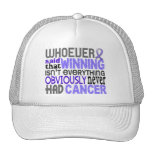 Whoever Said Oesophageal Cancer Mesh Hat