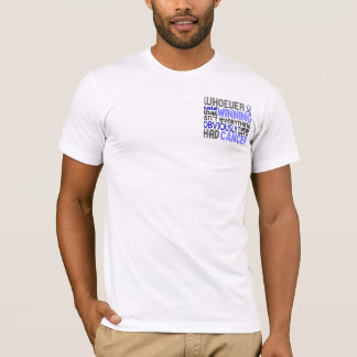 Whoever Said Prostate Cancer T-Shirt