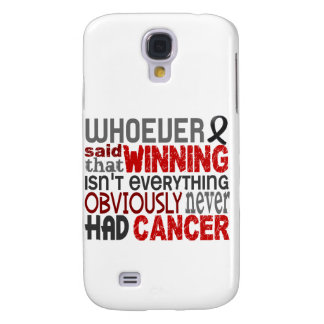 Whoever Said Skin Cancer Galaxy S4 Cases