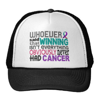 Whoever Said Thyroid Cancer Cap