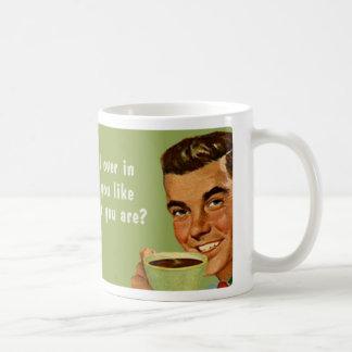 whoever you are basic white mug