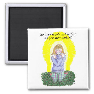 Whole and perfect square magnet