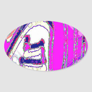 Whole Bunch 18 Oval Sticker