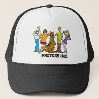 Whole Gang 12 Mystery Inc Trucker Hat