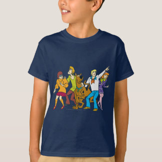 Whole Gang 13 Mystery Inc Shirts