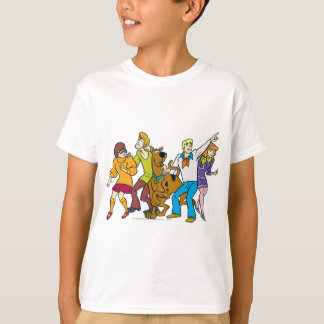 Whole Gang 13 Mystery Inc T-Shirt
