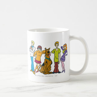 Whole Gang 14 Mystery Inc Coffee Mug