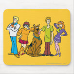Whole Gang 14 Mystery Inc Mouse Pad